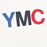 Мужская толстовка YMC Logo Print Crew Neck White фото- 2