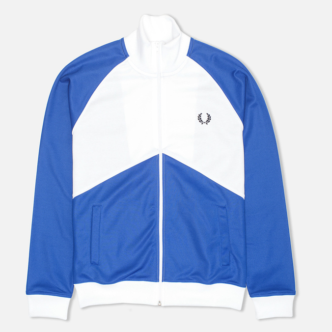 Мужская толстовка Fred Perry Chevron Track White/Regal
