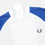 Мужская толстовка Fred Perry Chevron Track White/Regal фото- 1