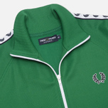 Мужская олимпийка Fred Perry Laurel Wreath Tape Track Green фото- 2