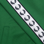 Мужская олимпийка Fred Perry Laurel Wreath Tape Track Green фото- 5