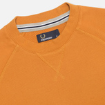 Мужская толстовка Fred Perry Loopback Crew Neck Dark Honey Mustard фото- 1