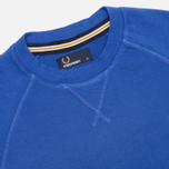 Fred Perry Loopback Crew Neck Men`s Sweatshirt Royal photo- 1