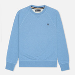 Мужская толстовка Fred Perry Loopback Crew Neck Smoke Blue Marl фото- 0