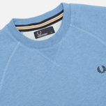 Мужская толстовка Fred Perry Loopback Crew Neck Smoke Blue Marl фото- 1