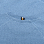 Мужская толстовка Fred Perry Loopback Crew Neck Smoke Blue Marl фото- 3