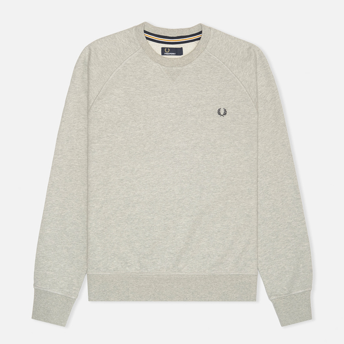 Мужская толстовка Fred Perry Loopback Crew Neck Stone Marl