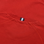 Fred Perry Loopback Crew Neck Men`s Sweatshirt Wallace Red photo- 3