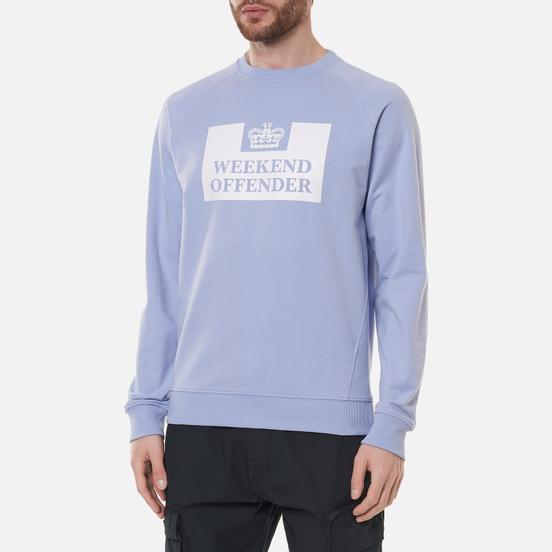 Мужская толстовка Weekend Offender Penitentiary SS21 Lavender