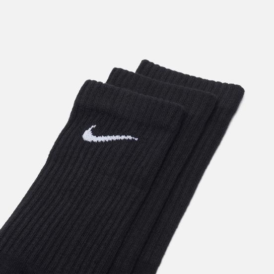 Комплект носков Nike 3-Pack Everyday Cushioned Crew Black/White