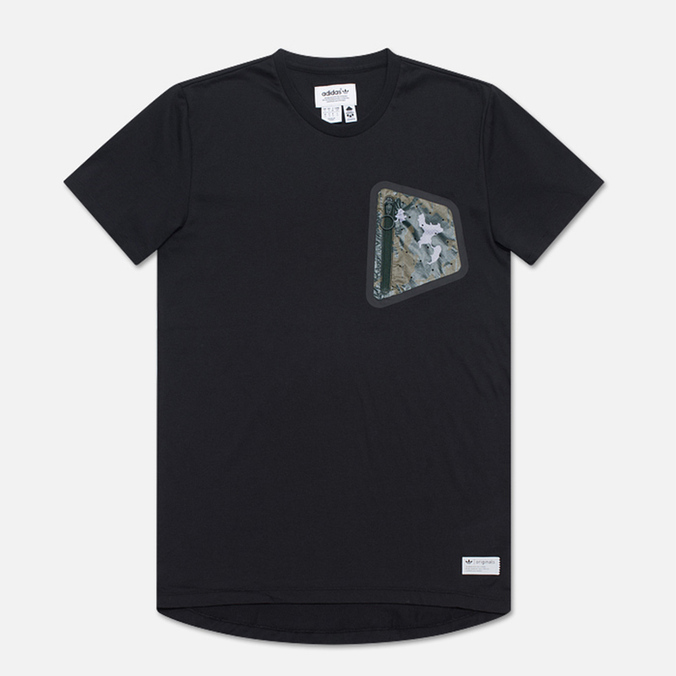 Мужская футболка adidas Originals Pocket CL Black/Camo