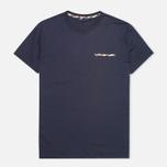 Мужская футболка Aquascutum Brady Navy фото- 0