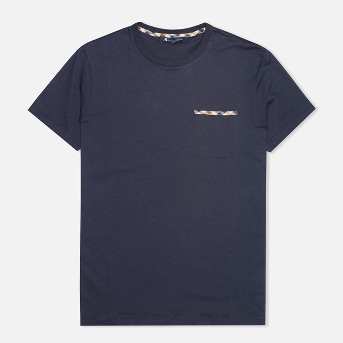 Мужская футболка Aquascutum Brady Navy
