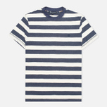 Aquascutum Buster Striped T-shirt Blue photo- 0