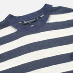 Aquascutum Buster Striped T-shirt Blue photo- 1