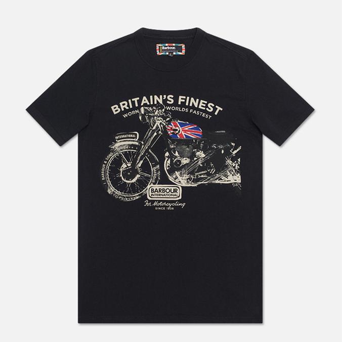 Мужская футболка Barbour Bickenhill Black