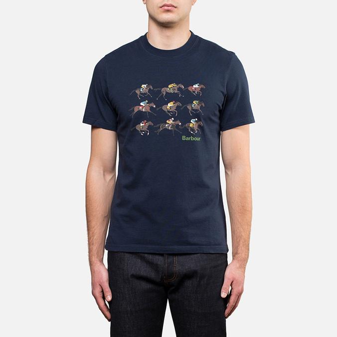 Мужская футболка Barbour Catterick Navy