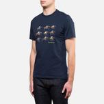 Мужская футболка Barbour Catterick Navy фото- 1