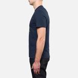 Мужская футболка Barbour Catterick Navy фото- 2