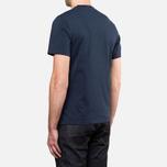 Мужская футболка Barbour Catterick Navy фото- 3