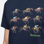 Мужская футболка Barbour Catterick Navy фото- 5