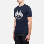 Мужская футболка Barbour Cross Flags Navy фото- 1