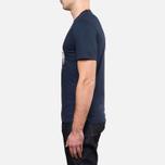 Мужская футболка Barbour Cross Flags Navy фото- 2