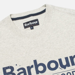 Мужская футболка Barbour Finest Grey Marl фото- 1