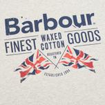 Мужская футболка Barbour Finest Grey Marl фото- 2