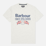 Мужская футболка Barbour Finest Grey Marl фото- 0