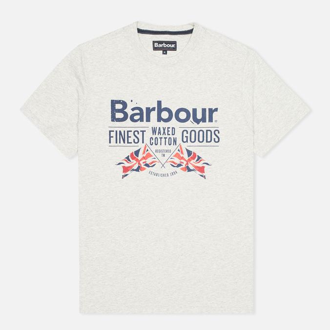 Мужская футболка Barbour Finest Grey Marl