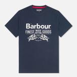 Мужская футболка Barbour Finest Navy фото- 0