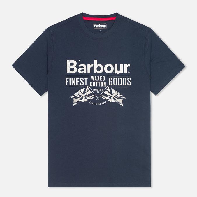 Мужская футболка Barbour Finest Navy