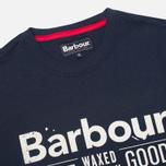 Мужская футболка Barbour Finest Navy фото- 1
