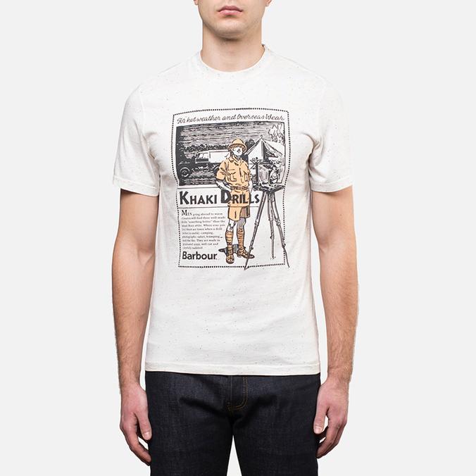 Мужская футболка Barbour Focus Neutral