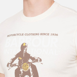 Мужская футболка Barbour Glendale Neutral фото- 5