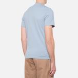 Мужская футболка Barbour Glendale Powder Blue фото- 2