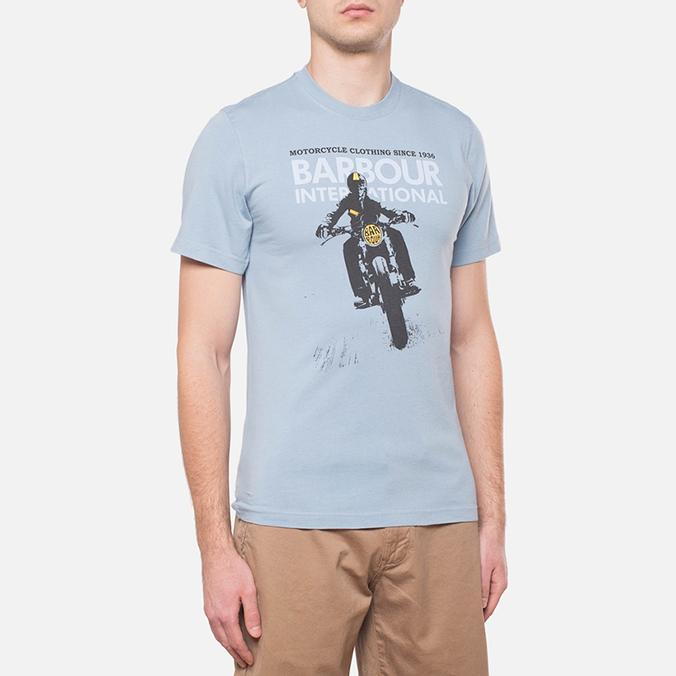 Мужская футболка Barbour Glendale Powder Blue