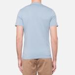 Мужская футболка Barbour Glendale Powder Blue фото- 3