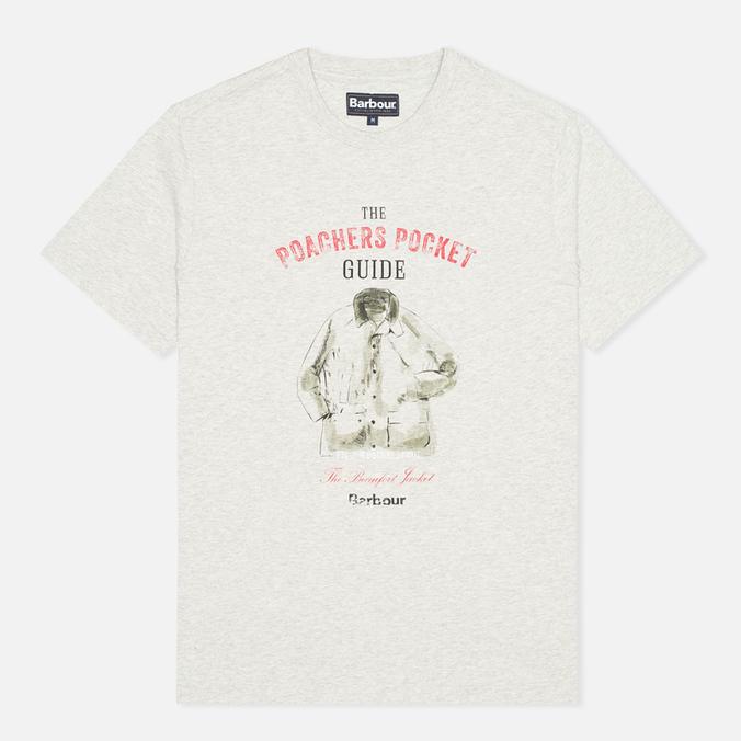 Мужская футболка Barbour Guide Grey Marl