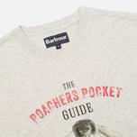 Мужская футболка Barbour Guide Grey Marl фото- 1