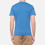 Мужская футболка Barbour Half Jack Marine Blue фото- 3