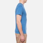 Мужская футболка Barbour Half Jack Marine Blue фото- 1