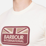 Мужская футболка Barbour Half Jack Neutral фото- 5