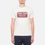 Мужская футболка Barbour Half Jack Neutral фото- 4