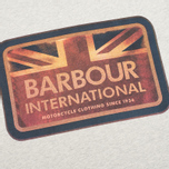 Мужская футболка Barbour International Antique Flag Grey Marl фото- 2