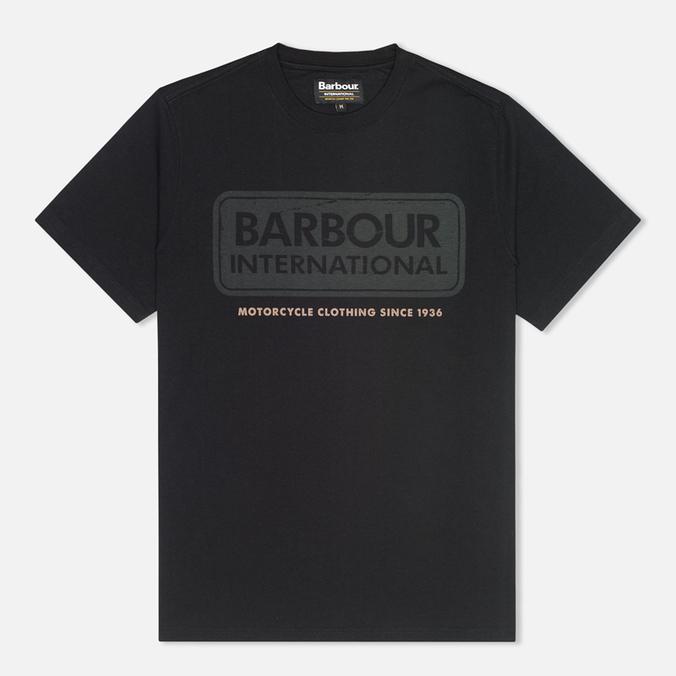Barbour International Logo T-shirt Black