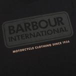 Мужская футболка Barbour International Logo Black фото- 2