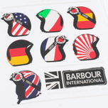 Мужская футболка Barbour International Nationality White фото- 2