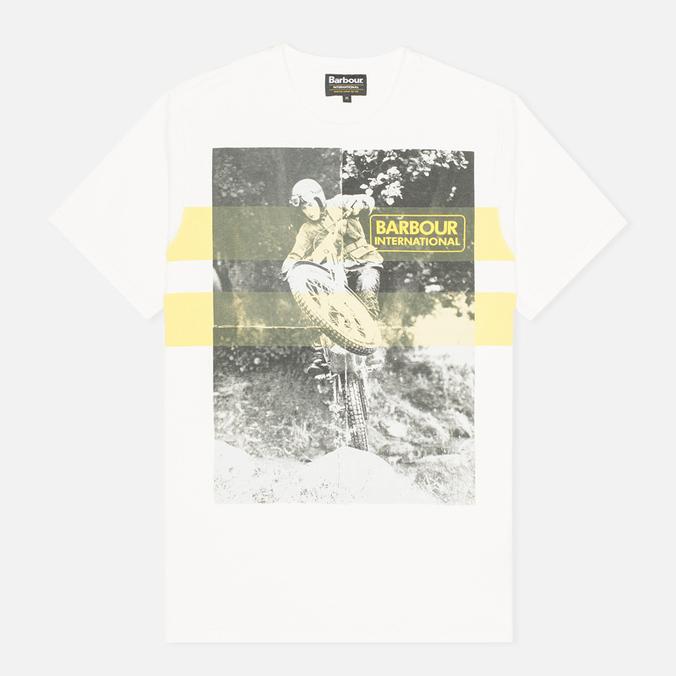 Мужская футболка Barbour International Track Neutral
